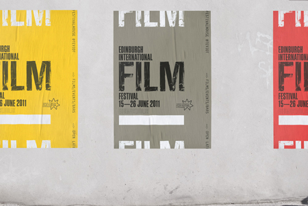 Edinburgh International Film Festival identity