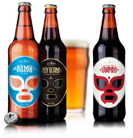 Cervecería Sagrada, the mexican wrestler's beer