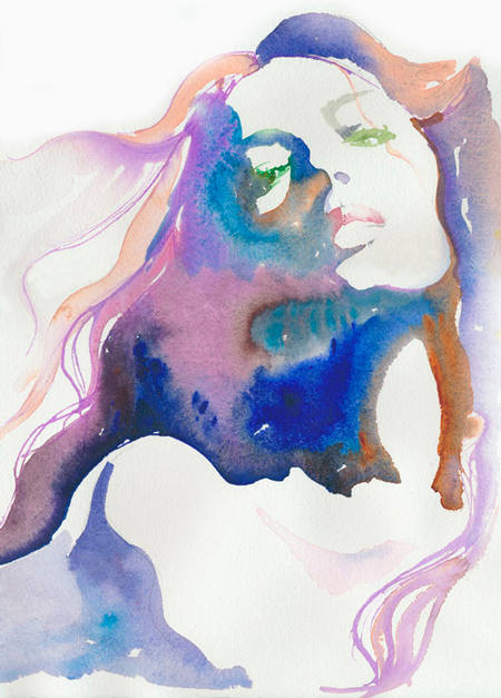 Water Color Illustrations by Cate Parr