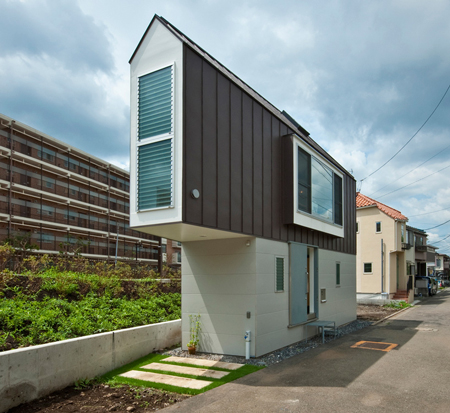 House in Horinouchi Mizuishi architect atelier