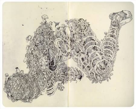 Sketchbook by James Jean