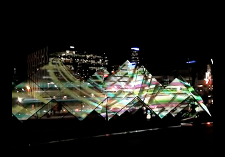 Amazing Lightshows on Buildings