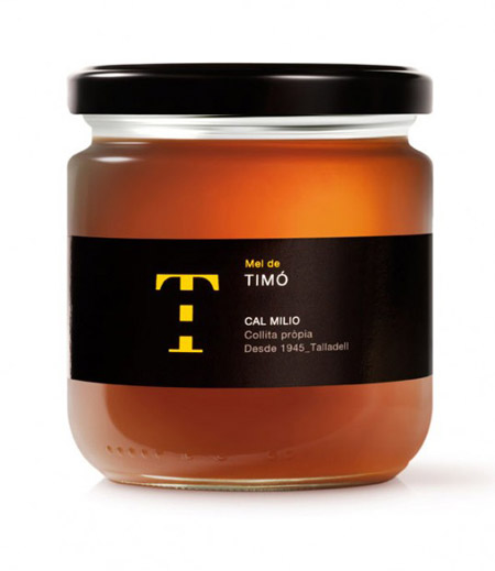 Honey packaging: Mel de Cal Milio
