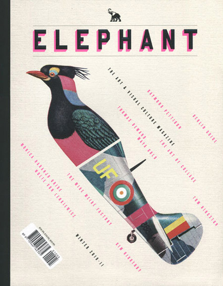 Elephant Magazine design