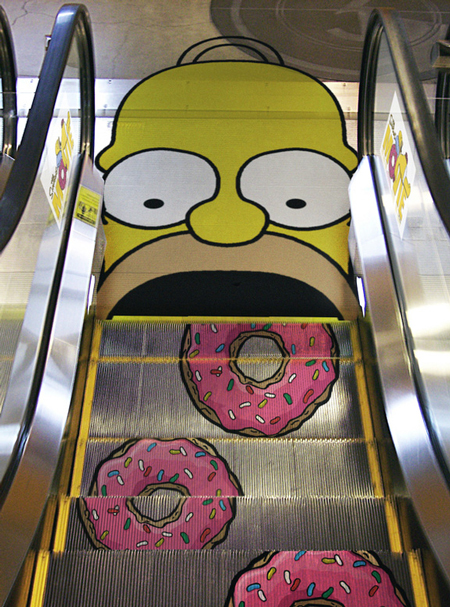 Simpsons Movie: Escalator