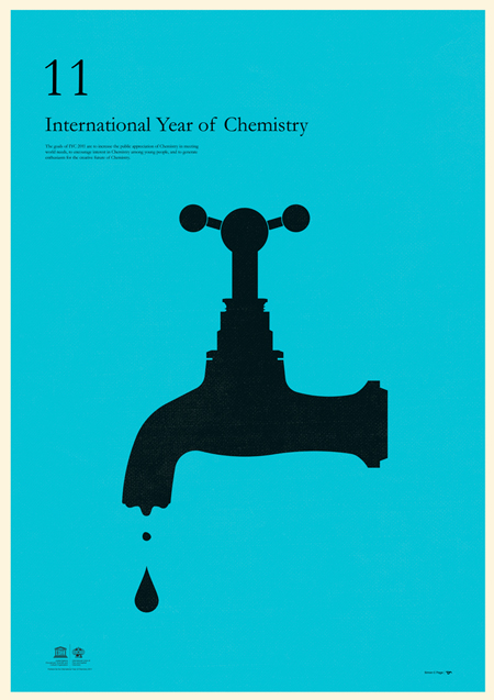 Posters for the International Year of Chemistry 2011 - Designer ...