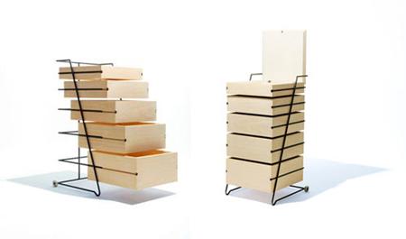 Minimalist furnitures by Keiji Ashizawa