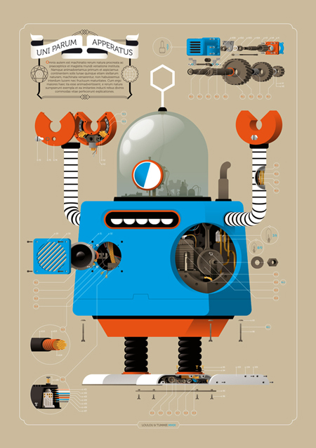 Robots by Loulou and Tummie