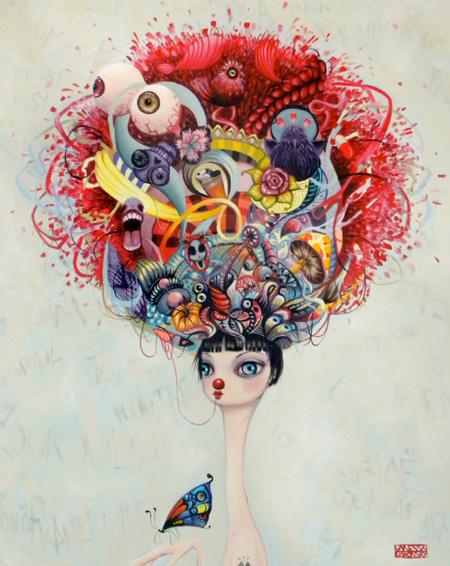 Paintings by Vanessa Dakinsky