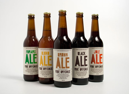 Identity for micro-brewery Ribe Bryghus
