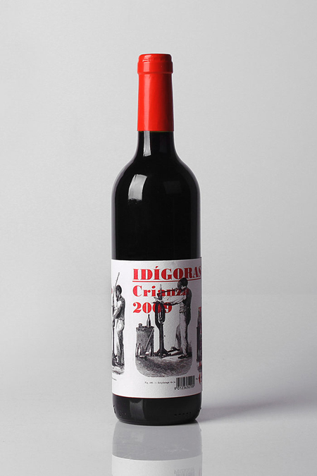 Idígoras wine labels