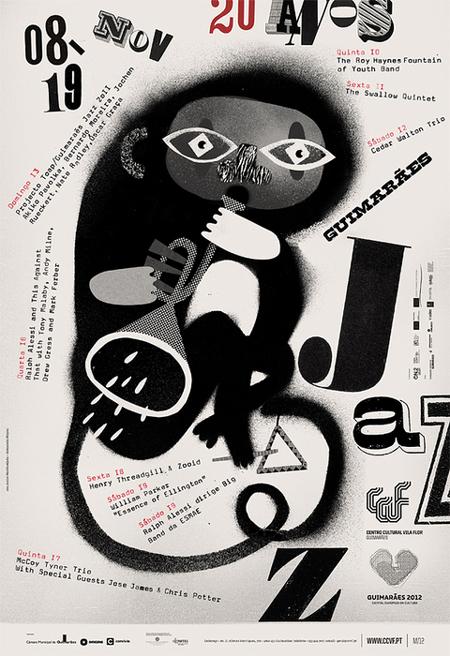 Guimaraes Jazz 2011 posters