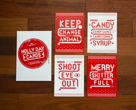 Holly Day Cards