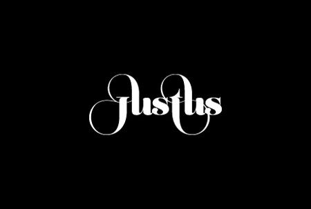 Justus magazine's logo design