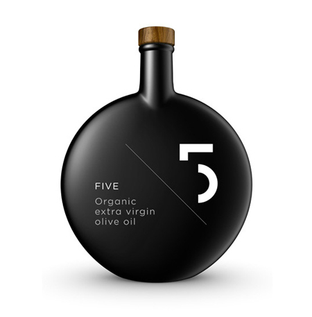 5 Olive Oil bottle design