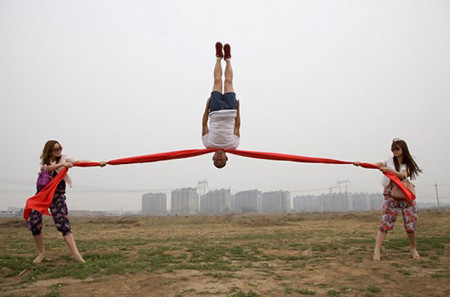 New artworks by Li Wei