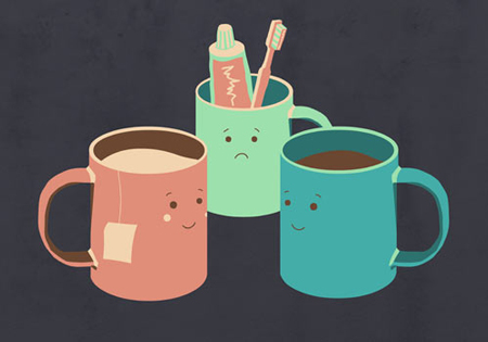Cute Characters from Design Milk's dairy
