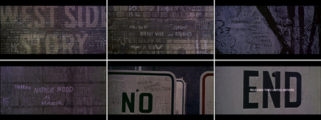 Saul Bass title sequences