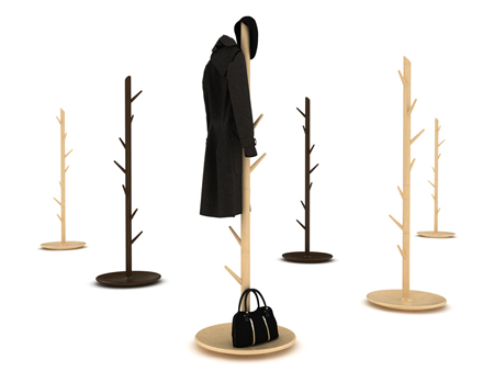 Thorn coat rack