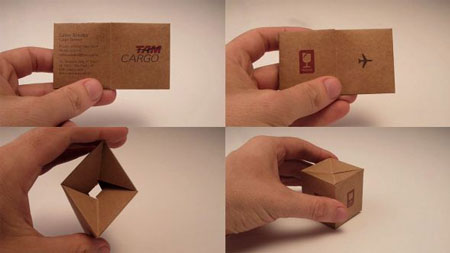 10 examples of great business card design via colourmoves