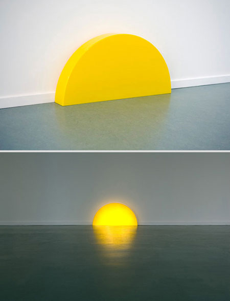 Skirting Board Sunset Lamp by Helmut Smits