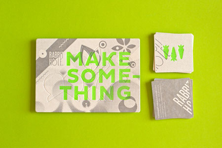 Rabbit hole business cards