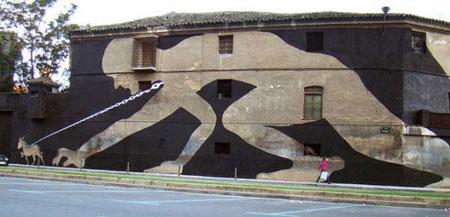 Street art by Sam3