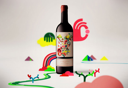 "Label design by ""La vinya del vuit"""