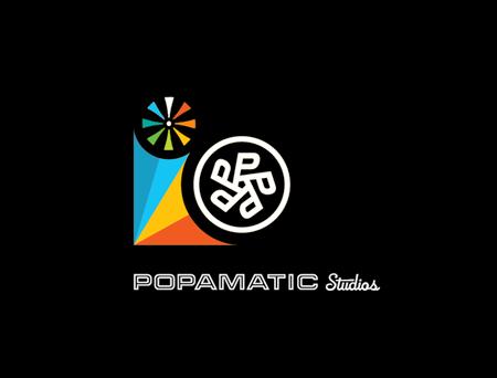 Popamatic Studios branding