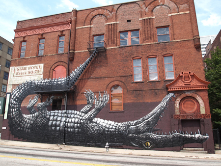 Street art by ROA!