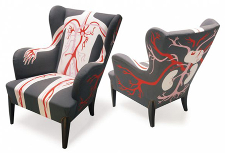 Anatomical armchairs