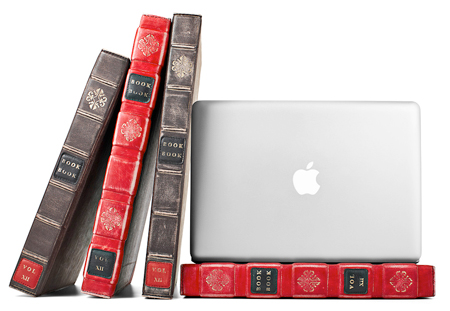 BookBook: MacBook Pro leather case