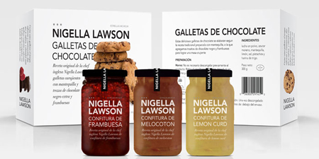 Concept packaging: gourmet line of frozen foods