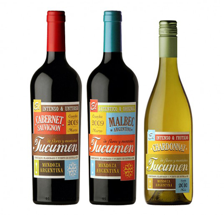 Tucumen wine labels