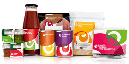 Ocado food packaging