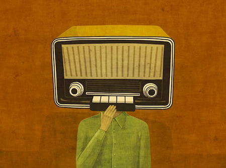 Radio heads by Toni Demuro