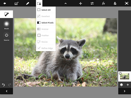 Photoshop now available for the iPad