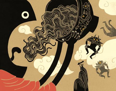 Illustrations by Tomi Um