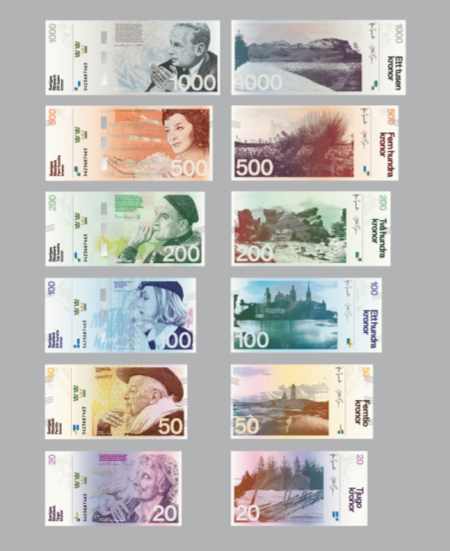 Concept for new Swedish money