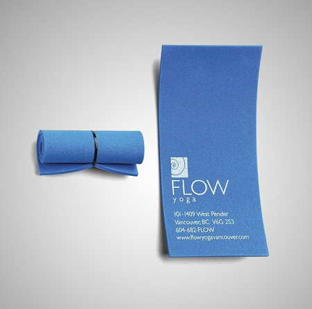 Flow Yoga Business Card