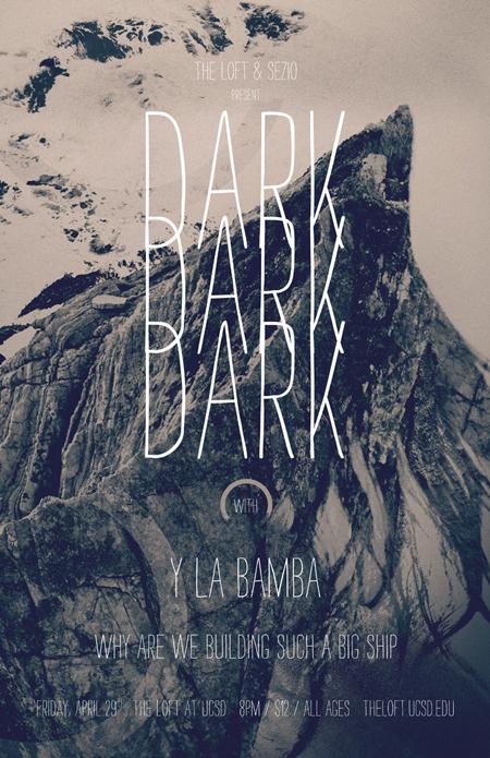 Dark Dark Dark Show Poster