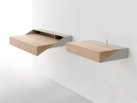 Deskbox for arco by Raw Edges