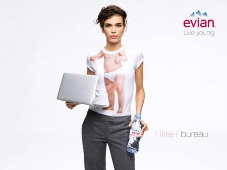 """New Evian """"Live Young"""" visuals"""