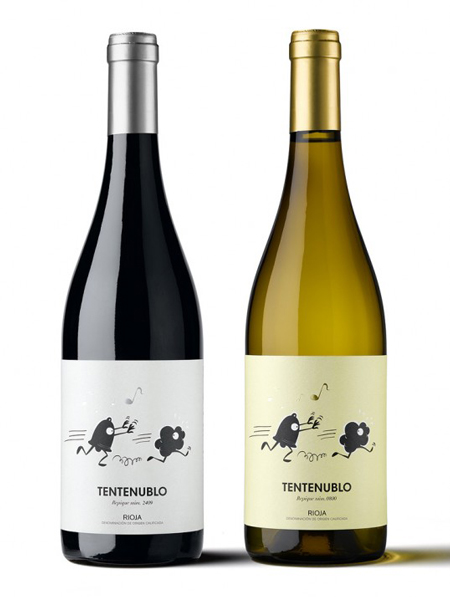 Tentenublo wine label
