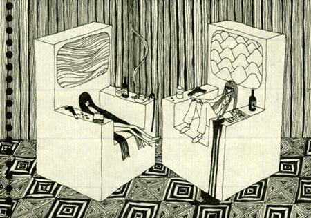 1000 drawing project Akira Horikawa