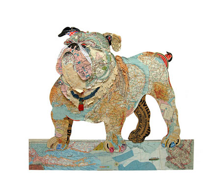 Dogs Collages by Peter Clark