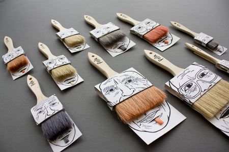 Poilus brush packaging