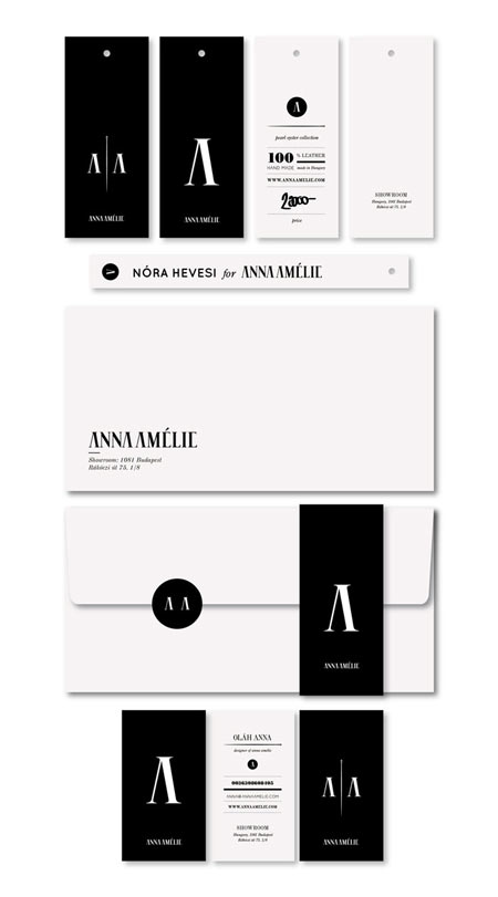 Branding for Anna Amelie
