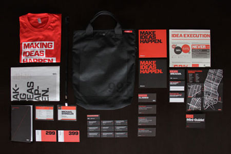 99% conference 2012 identity & branding materials