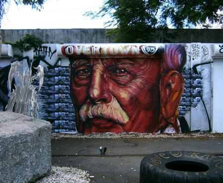 Murals by Gaia